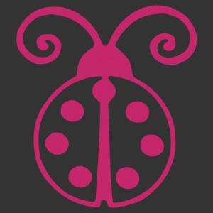 Szabályosan rajzolt katicabogár matrica kép
