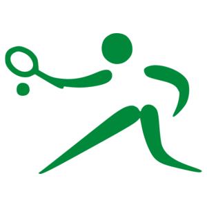 Tenisz 014 matrica kép