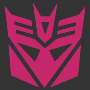 Transformers - Álca (decepticon) logó matrica kép