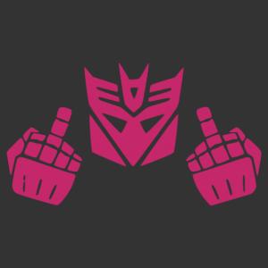 Transformers - Fu*k you  matrica kép