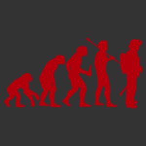 Tűzoltók evolúciója vicces autómatrica kép