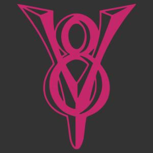V8-as motor designer logó autómatrica kép