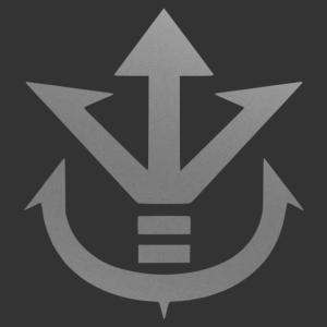 Vegita (Dragon Ball) szimbólum falmatrica kép