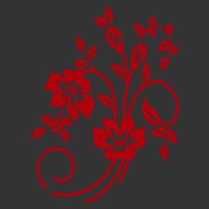 Virág motívum 06 matrica kép