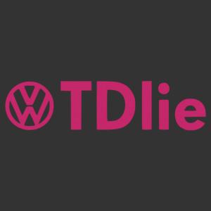 Volkswagen TDI - TDlie vicces autó matrica kép