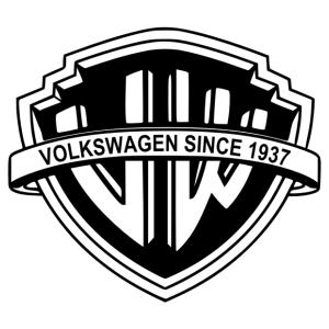 Volkswagen Warner Bros matrica kép