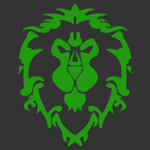 Wow - Warcraft - Alliance embléma falmatrica kép