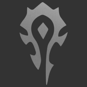 Wow - Warcraft - Horde embléma falmatrica kép