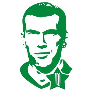 Zidane 02 matrica kép